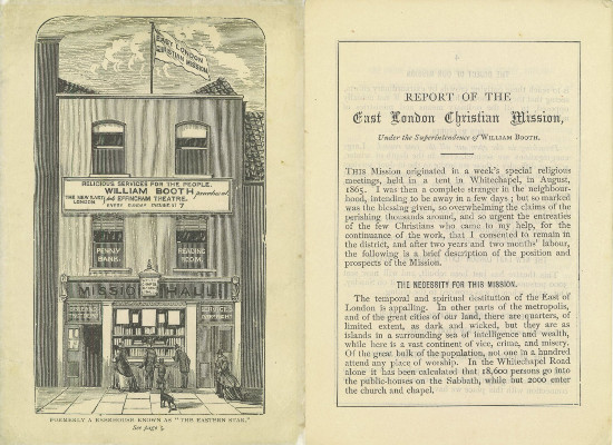 Image of First report of the East London Christian Mission, 1867